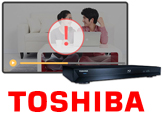 TOSHIBA Blu-ray Disc Player 再生出来ない