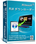 4Videosoft FLV Downloader box